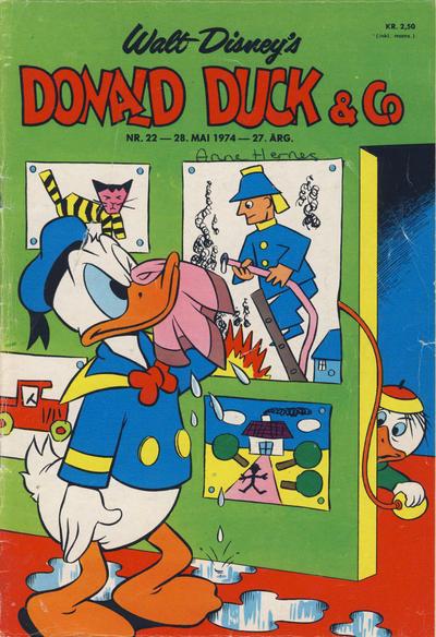 Cover for Donald Duck & Co (Hjemmet / Egmont, 1948 series) #22/1974