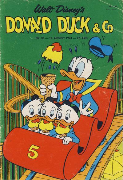 Cover for Donald Duck & Co (Hjemmet / Egmont, 1948 series) #33/1974