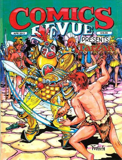 Cover for Comics Revue (Manuscript Press, 1985 series) #323-324