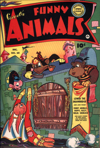 Cover for Fawcett's Funny Animals (Fawcett, 1942 series) #68