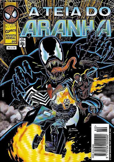 Cover for A Teia do Aranha (Editora Abril, 1989 series) #80
