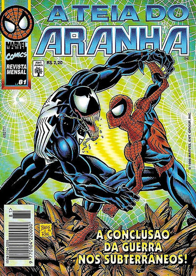 Cover for A Teia do Aranha (Editora Abril, 1989 series) #81