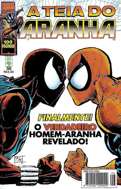 Cover for A Teia do Aranha (Editora Abril, 1989 series) #96