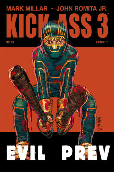 Cover for Kick-Ass 3 (Marvel, 2013 series) #1