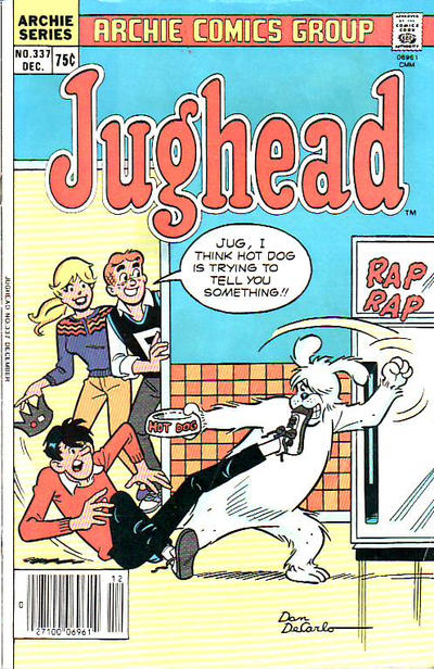Cover for Jughead (Archie, 1965 series) #337