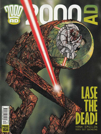 Cover for 2000 AD (Rebellion, 2001 series) #1834