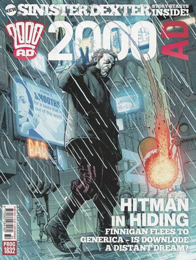 Cover for 2000 AD (Rebellion, 2001 series) #1832