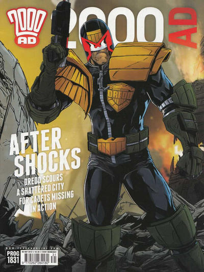 Cover for 2000 AD (Rebellion, 2001 series) #1831