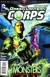 Cover for Green Lantern Corps (DC, 2011 series) #21 [Direct Sales]