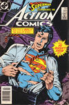 Cover Thumbnail for Action Comics (1938 series) #564 [Newsstand]