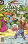 Cover Thumbnail for Action Comics (1938 series) #566 [Newsstand]