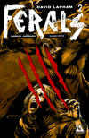 Cover for Ferals (Avatar Press, 2012 series) #2 [Slashed Edition Variant Cover by Gabriel Andrade]