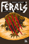 Cover for Ferals (Avatar Press, 2012 series) #4 [Slashed Edition Variant Cover by Gabriel Andrade]