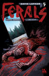 Cover for Ferals (Avatar Press, 2012 series) #5 [Gore Variant Cover by Gabriel Andrade]