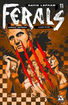 Cover Thumbnail for Ferals (2012 series) #11 [Slashed Edition Variant Cover by Gabriel Andrade]