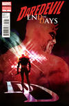 Cover for Daredevil: End of Days (Marvel, 2012 series) #8 [Variant Cover by Bill Sienkiewicz]