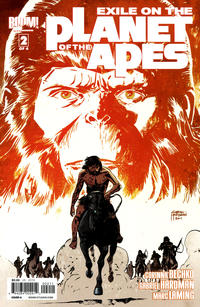 Cover Thumbnail for Exile on the Planet of the Apes (Boom! Studios, 2012 series) #2 [Cover A Gabriel Hardman]