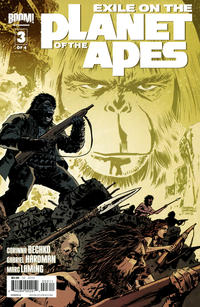 Cover Thumbnail for Exile on the Planet of the Apes (Boom! Studios, 2012 series) #3