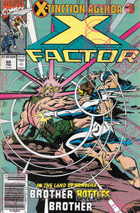 Cover for X-Factor (Marvel, 1986 series) #60 [Gold 2nd Printing]