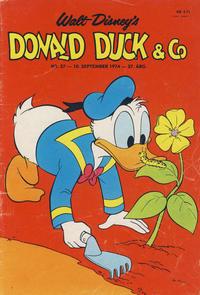 Cover Thumbnail for Donald Duck & Co (Hjemmet / Egmont, 1948 series) #37/1974
