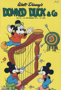 Cover Thumbnail for Donald Duck & Co (Hjemmet / Egmont, 1948 series) #39/1974