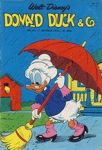 Cover Thumbnail for Donald Duck & Co (Hjemmet / Egmont, 1948 series) #40/1974