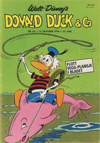 Cover Thumbnail for Donald Duck & Co (Hjemmet / Egmont, 1948 series) #42/1974