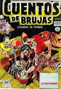 Cover Thumbnail for Cuentos de Brujas (Editora de Periódicos La Prensa S.C.L., 1951 series) #25