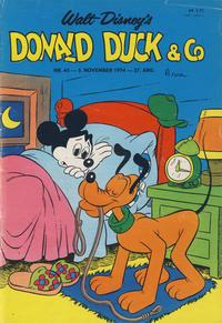 Cover Thumbnail for Donald Duck & Co (Hjemmet / Egmont, 1948 series) #45/1974