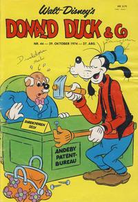 Cover Thumbnail for Donald Duck & Co (Hjemmet / Egmont, 1948 series) #44/1974