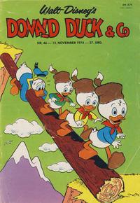 Cover Thumbnail for Donald Duck & Co (Hjemmet / Egmont, 1948 series) #46/1974