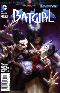 Cover Thumbnail for Batgirl (DC, 2011 series) #21