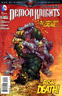 Cover Thumbnail for Demon Knights (DC, 2011 series) #21