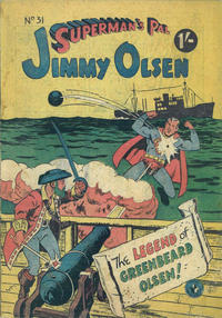 Cover Thumbnail for Superman's Pal, Jimmy Olsen (K. G. Murray, 1955 series) #31