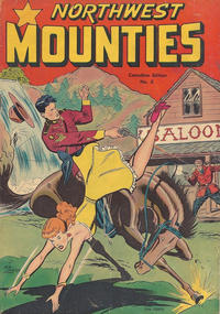 Cover Thumbnail for Northwest Mounties (Publications Services Limited, 1949 series) #3