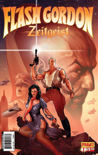 Cover Thumbnail for Flash Gordon: Zeitgeist (Dynamite Entertainment, 2011 series) #1 [Cover B (25%) Paul Renaud]