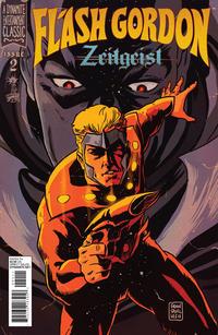 Cover Thumbnail for Flash Gordon: Zeitgeist (Dynamite Entertainment, 2011 series) #2 [Cover C (1-in-10) Francesco Francavilla]