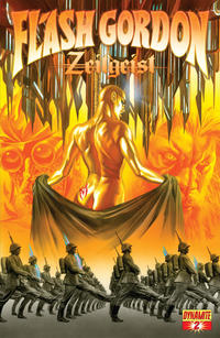 Cover Thumbnail for Flash Gordon: Zeitgeist (Dynamite Entertainment, 2011 series) #2 [Cover A (75%) Alex Ross]