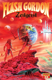 Cover Thumbnail for Flash Gordon: Zeitgeist (Dynamite Entertainment, 2011 series) #3 [Cover A (75%) Alex Ross]