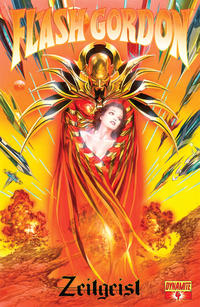 Cover Thumbnail for Flash Gordon: Zeitgeist (Dynamite Entertainment, 2011 series) #4 [Cover A (75%) Alex Ross]