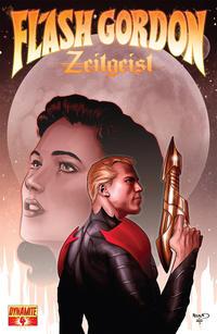 Cover Thumbnail for Flash Gordon: Zeitgeist (Dynamite Entertainment, 2011 series) #4 [Cover B (25%) Paul Renaud]
