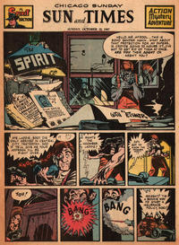 Cover Thumbnail for The Spirit (Register and Tribune Syndicate, 1940 series) #10/12/1947