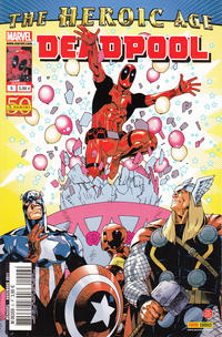 Cover Thumbnail for Deadpool (Panini France, 2011 series) #6