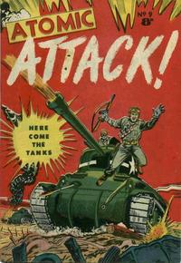 Cover Thumbnail for Atomic Attack! (Calvert, 1953 ? series) #9