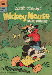 Cover Thumbnail for Walt Disney's Mickey Mouse (W. G. Publications; Wogan Publications, 1956 series) #43