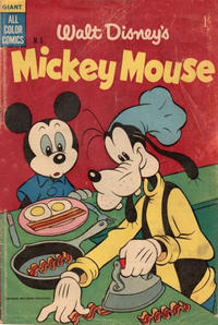 Cover Thumbnail for Walt Disney's Mickey Mouse (W. G. Publications; Wogan Publications, 1956 series) #5
