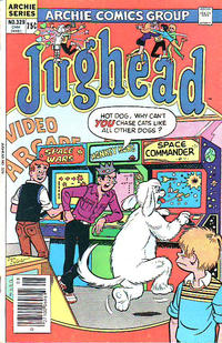 Cover Thumbnail for Jughead (Archie, 1965 series) #329 [Canadian]