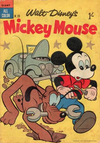 Cover Thumbnail for Walt Disney's Mickey Mouse (W. G. Publications; Wogan Publications, 1956 series) #20
