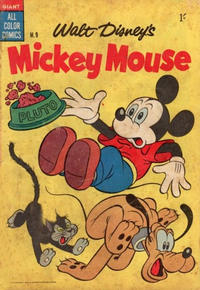Cover Thumbnail for Walt Disney's Mickey Mouse (W. G. Publications; Wogan Publications, 1956 series) #9
