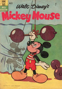 Cover Thumbnail for Walt Disney's Mickey Mouse (W. G. Publications; Wogan Publications, 1956 series) #23